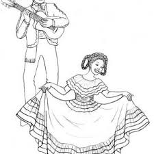 clipart ilration mariachi band men playing violins catrina