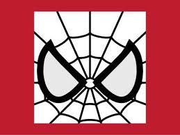 spiderman face logo clip art library