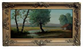 french countryside 1900s french countryside painting chairish
