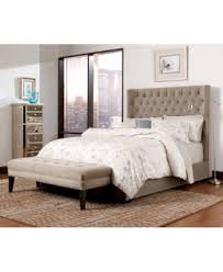 Upholstered Queen Bed Frame by Wysteria Upholstered Queen Bed Created For Macy U0027s Furniture