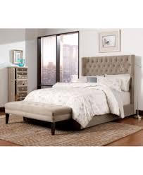 wysteria upholstered king bed created for macy u0027s furniture macy u0027s