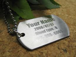 engravable dog tags zakka onlyone rakuten global market stainless steel engraved