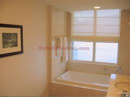 Bathrooms In Nyc Custom Roman Shades In New York City Nyc Manhattan U0026 Westchester