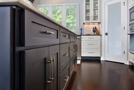 White Kitchen Cabinets With Black Island by New Kitchen Features Black U0026 White Cabinets Cliqstudios