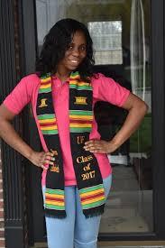 graduation stole custom custom graduation kente stole black