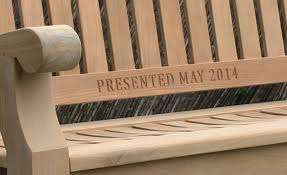 Engraved Benches Engraved Bench Personalised With Our Wooden U0026 Plaque Engraving