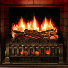 magikflame electric fireplace english cherry wood