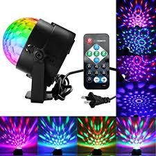 sound activated dj lights amazon com disco ball lights party lights sound activated party