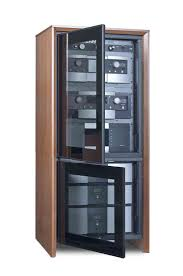Audio Cabinets With Glass Doors Small Stereo Cabinets With Glass Doors Modern Component Cabinet 53