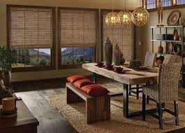 Dining Room Curtains Dining Room Window Treatments Budget Blinds - Dining room curtains