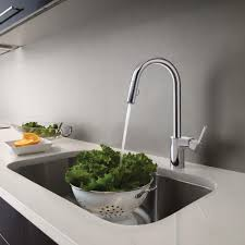 moen 7565srs align one handle high arc pulldown kitchen faucet
