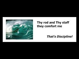 Thy Rod And Thy Staff Comfort Me Psalm23
