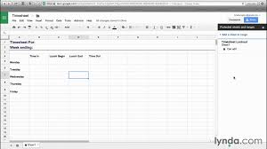 Sheet Templates Sheets To Templates Productivity Lynda Com