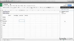 Sheets Templates Sheets To Templates Productivity Lynda Com