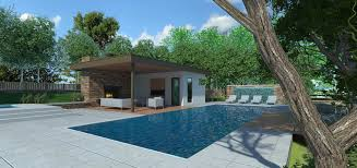 pool house pool house line 8 design