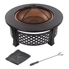 Firepit Grille by Fire Sense 23 64 In Hotspot Solid Base Revolver Fire Pit 60532