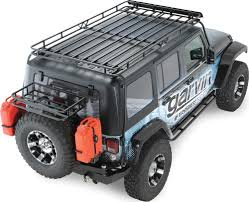 jeep wrangler overhead storage garvin industries wilderness expedition rack for 07 16 jeep