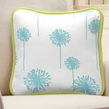 aqua decorative pillows home decor u0026 furniture