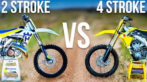 types of motocross bikes what u0027s the difference between 2 stroke and 4 stroke dirt bikes