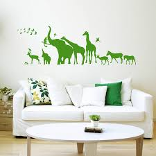 safari animal wall stickers wall murals you ll love 37 safari wall decals animals decal world