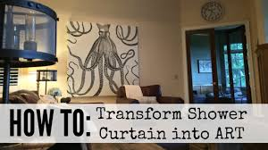 Artistic Shower Curtains How To Create Shower Curtain