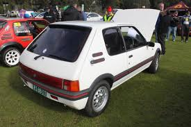 peugeot 205 gti file 1988 peugeot 205 gti 3 door hatchback 19634964218 jpg