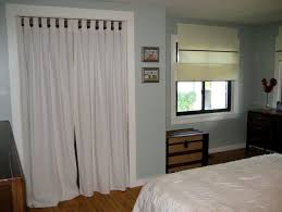 Replace Sliding Closet Doors With Curtains Replace Sliding Closet Doors With Curtains As Doors 6 Curtain For