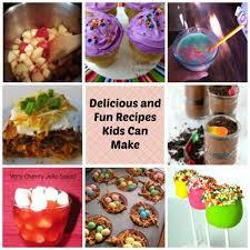 check out this delicious round up of recipes kids can make