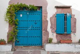 beautiful doors in france stock photo picture and royalty free