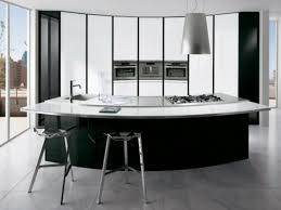 curved kitchen island impressive curved kitchen island designs