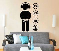 Minecraft Bedroom Decals by Details About Wall Decal Gamer Video Games Computer Boys Room
