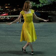 yellow dress la la land yellow dress costume party