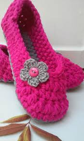 best 25 pink slippers ideas on pinterest fuzzy slippers sewing women s crochet pink slippers hot pink crochet slippers hand crochet slippers house shoes crochet booties slippers