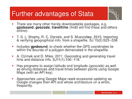 Driving Distance Google Maps Using Stata To Create Interactive Maps Ppt Download