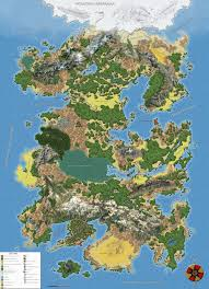 Fantasy Map Chart Crazy Moon Language Fantasy Map Nerd