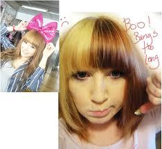 kawaii hairstyles no bangs bangs a step by step tutorial on gal styling universal doll com
