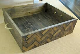 Western Home Decor Pinterest Diy Herringbone Box A Creative Way To Add Storage And Style