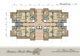 Beautiful Apartment Floor Plans Designs And Decor - Apartment house plans designs