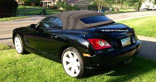 chrysler crossfire information and photos momentcar