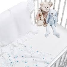 pom pom organic crib bedding