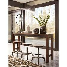long counter height table d440 52 ashley furniture torjin dining room long counter table