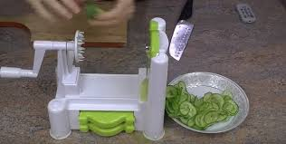 paderno cuisine spiral vegetable slicer spiral slicers the helping kitchen