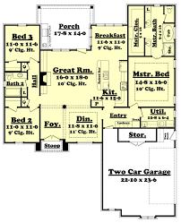 european style house plan 3 beds 2 00 baths 1937 sq ft plan 430 116