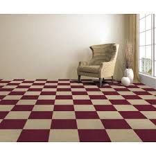 achim nexus burgundy 12x12 self adhesive carpet floor tile 12