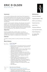 sle manager resume template event manager resume sle printable planner template