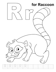 raccoon coloring pages to download and print for free