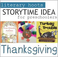 literary hoots thanksgiving family storytime