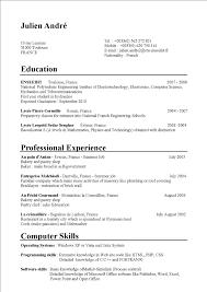 Student Summer Job Resume Job Application Letter For A Summer Job