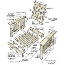 chair woodworking plans free chair plans including morris chairs