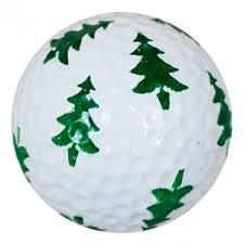 tree print novelty golf balls